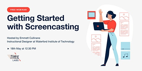 Free Webinar: Getting Started with Screencasting for eLearning bilhetes