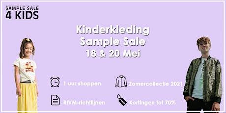 Kinderkleding Sample Sale | 18 & 20 Mei tickets