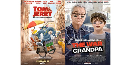 Screen 1 -Tom and Jerry and The War With Grandpa tickets
