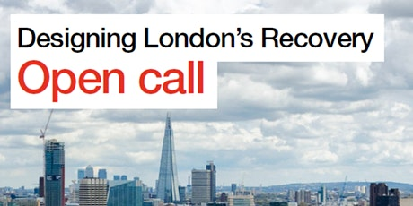 Designing London's Recovery Launch Event: Brief Three tickets