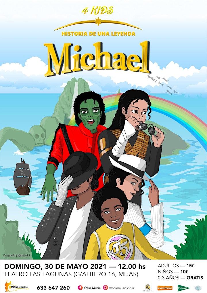 "Michael 4Kids, ""La Historia De Una Leyenda"" image"