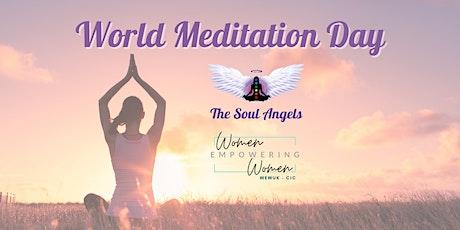Meditation Evening - Celebrating World Meditation Day WEWUK tickets