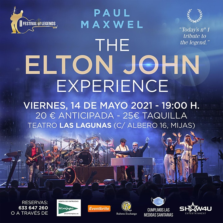 The Elton John Experience image