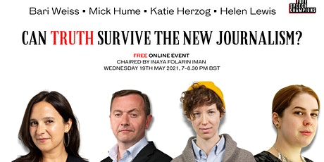 Can truth survive the new journalism? tickets