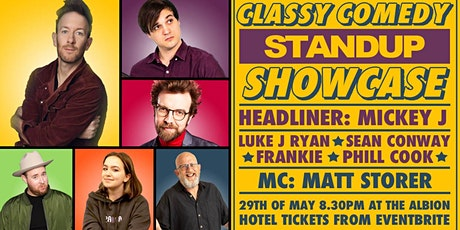 Classy Comedy Standup Showcase tickets