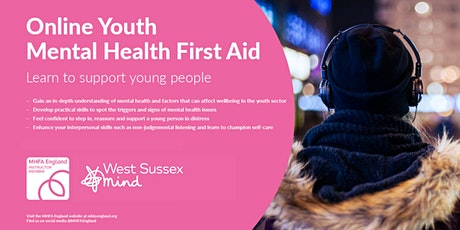 Online Youth Mental Health First Aid tickets