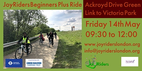 Beginners + ride: Ackroyd Drive Green Link (Tower Hamlets) to Victoria Park tickets
