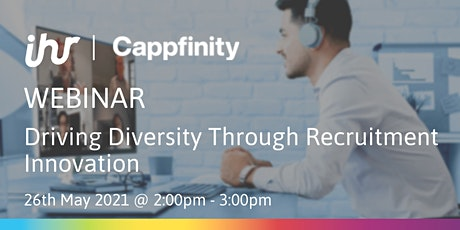 Driving Diversity Through Recruitment Innovation tickets