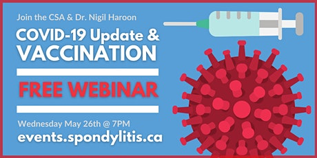 COVID-19 Update & Vaccination Webinar billets