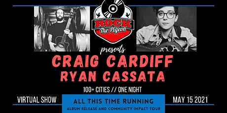 TONIGHT! Rock the Pigeon Presents: Craig Cardiff (Livestream) Tickets