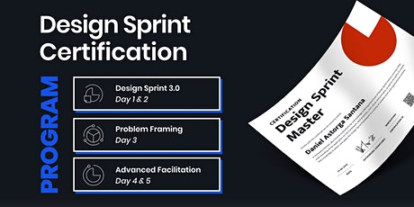 Design Sprint Master Certification Program - Berlin Tickets