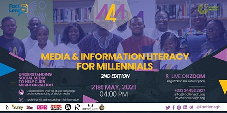 Media and Information Literacy (MIL) for Millennials (M4M) 2nd Edition Tickets