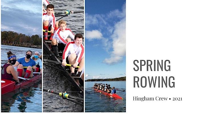 Hingham High School Rowing Association - Hingham Crew Event image