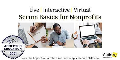 Scrum Basics for Nonprofits tickets
