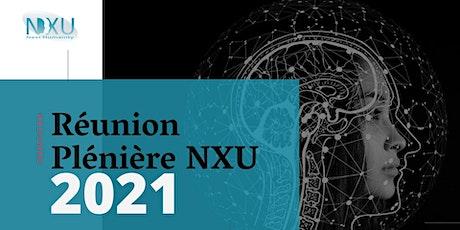 Réunion Plénière NXU  Think Tank billets