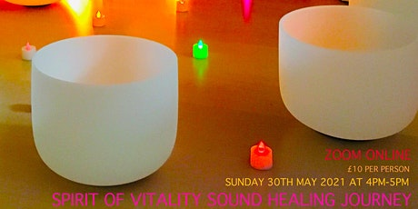 Spirit of Vitality Sound healing Journey tickets