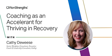 ICW: Coaching as an Accelerant for Thriving in Recovery (Part 1) tickets