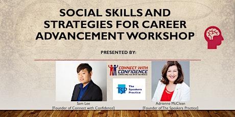 Social skills and Strategies for Career Advancement biglietti