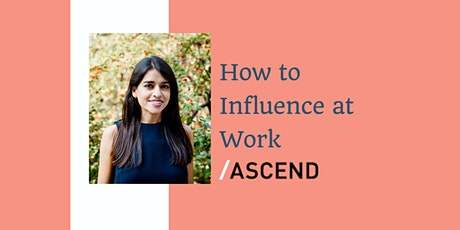 How to Influence at Work Workshop tickets