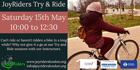 Try And Ride: Test out riding a bike at the Olympic Park Velodrome tickets