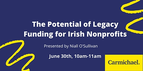 The Potential of Legacy Funding for Irish Nonprofits tickets