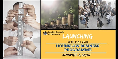 Hounslow Business Programme:  Innovate & Grow Launch tickets