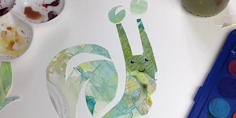 Gweithdy Cymeriadau Coetiroedd Collage/ Woodland Creatures Collage Workshop tickets