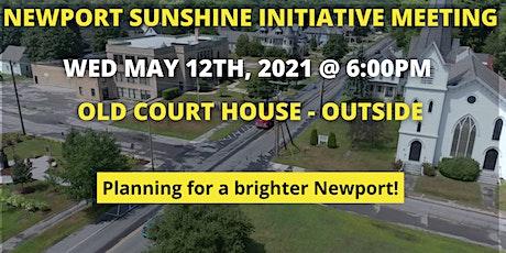 Newport Sunshine Initiative May Meeting tickets