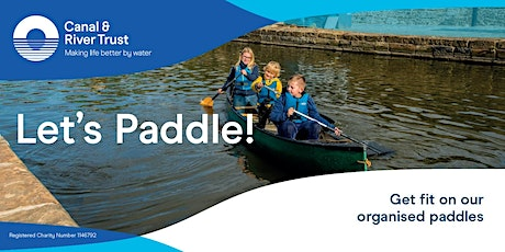 Let's Paddle - Introduction to canoeing tickets
