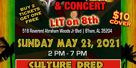 Reggae Block Party and Culture Dred Reggae Concert tickets