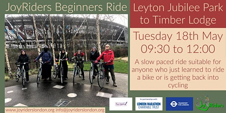 Beginners Ride: Leyton Jubilee Park to Olympic Park tickets