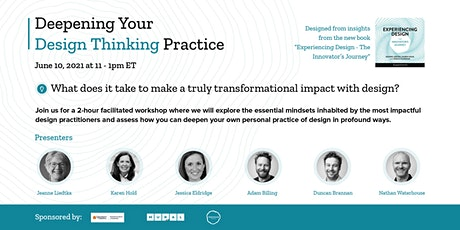 Deepening Your Design Thinking Practice tickets
