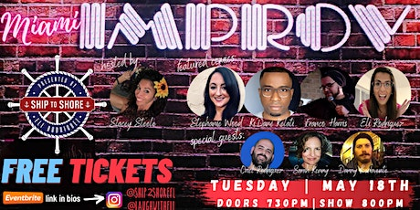 FREE Comedy Show at the Miami Improv tickets