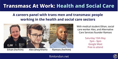 Transmasc at Work: Health and Social Care tickets