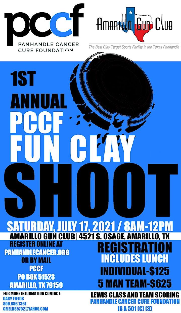 1st Annual PCCF Fun Clay Shoot image