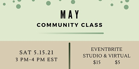 May Community Class 5/15/2021 tickets