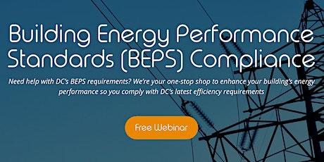 DC Building Energy Performance Standards Webinar (DC BEPS) tickets