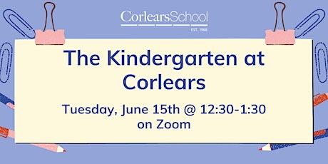 The Kindergarten at Corlears tickets
