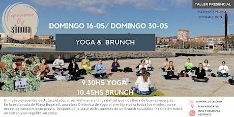 Yoga & Brunch en Bogatell entradas