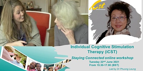 Individual Cognitive Stimulation Therapy (iCST) Staying Connected workshop tickets