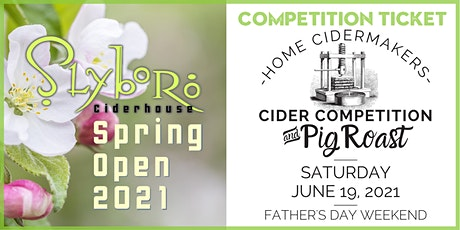 Registration Form for Slyboro Spring Open 2021 - Cider Competition tickets