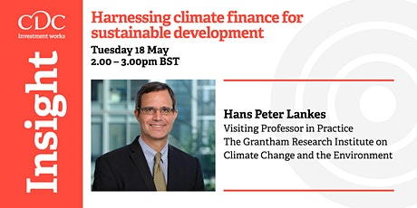 Harnessing climate finance for sustainable development tickets