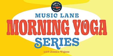 Music Lane Saturday Morning Yoga tickets