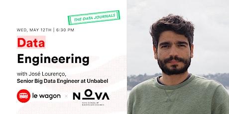 Le Wagon Data Journals | José Lourenço, Senior Big Data Engineer @ Unbabel tickets