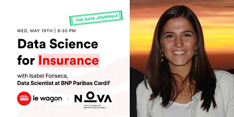 Le Wagon Data Journals | Isabel Fonseca, Data Scientist @ BNP Paribas tickets