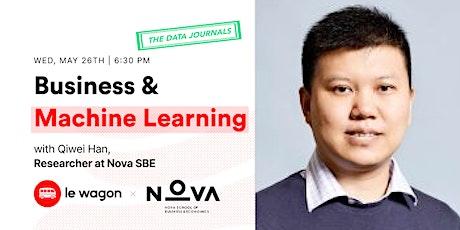 Le Wagon Data Journals | Qiwei Han, Researcher @ Nova Data Knowledge Center tickets