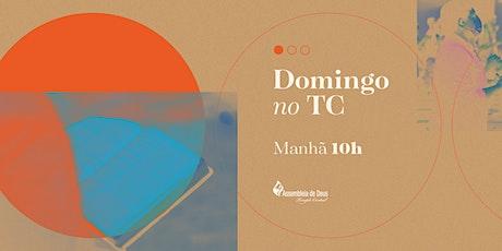 Culto Matinal -  DOMINGO - 09/05/2021 - 10H ingressos