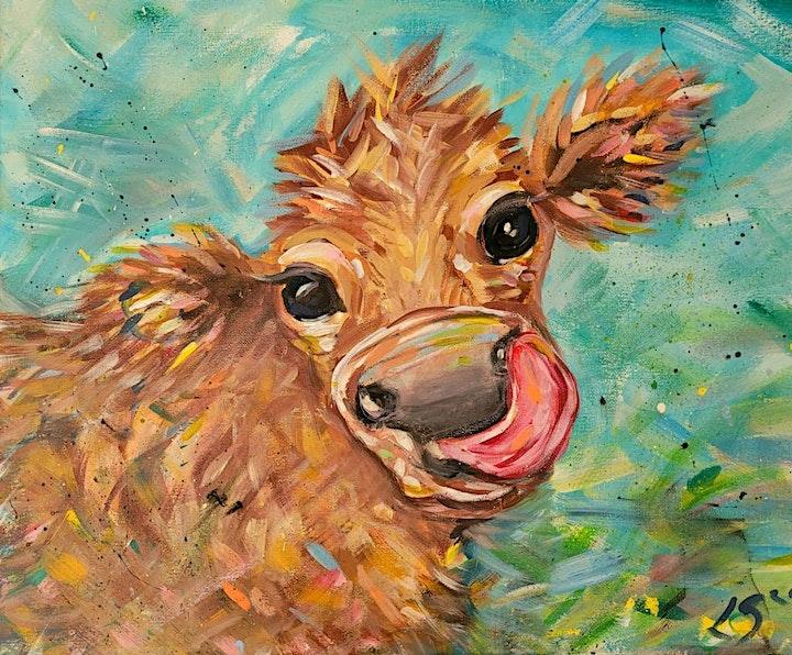 Pop Art Paint Along for Adults image