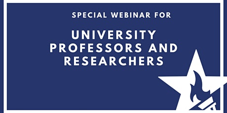 Special Webinar for University Professors and Researchers tickets