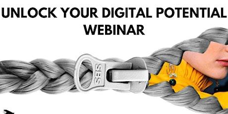 Unlock Your Digital Potential Webinar - CrozNest tickets